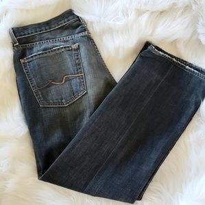Men's 7 for all man kind button fly jeans